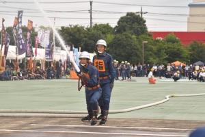 第51回神奈川県消防操法大会に南足柄市消防団第6分団が出場しました