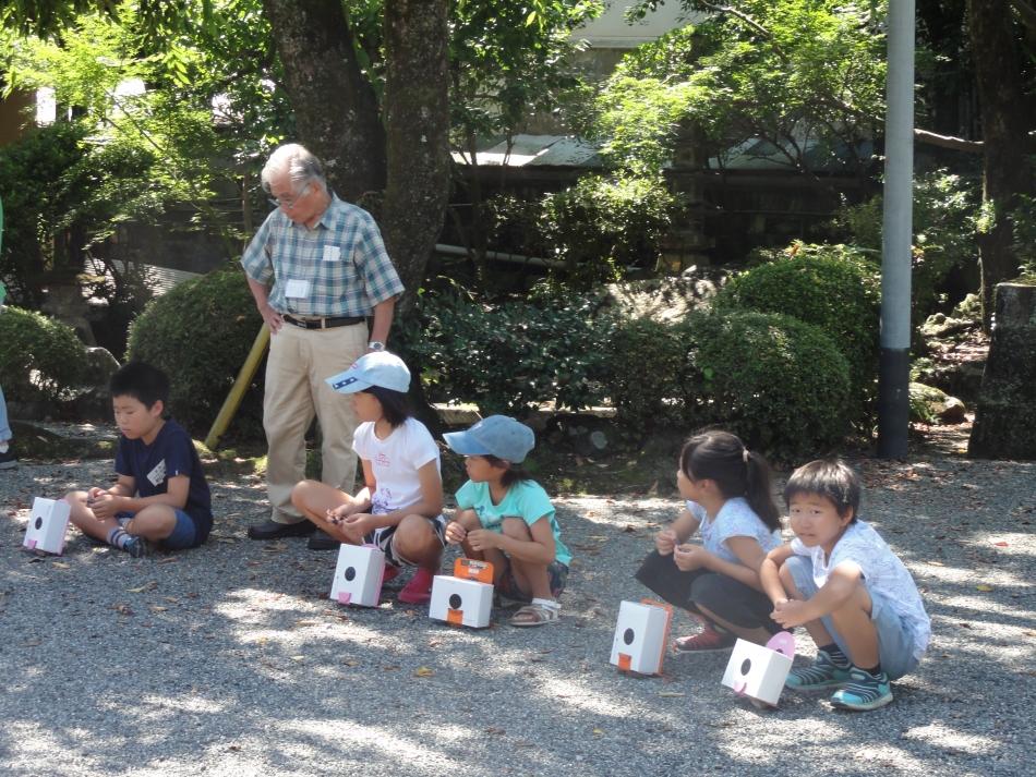 講座:夏休み子どもカメラ教室