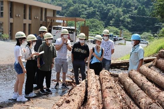 県森林組合連合会林業センター
