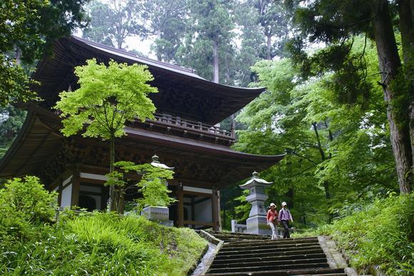 新緑の最乗寺
