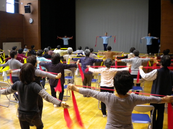介護予防のための体操教室