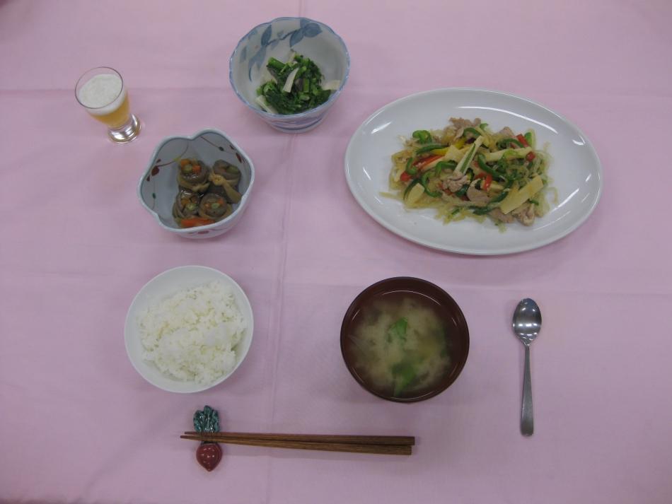 南足柄市ヘルシークッキングセミナー料理の一例