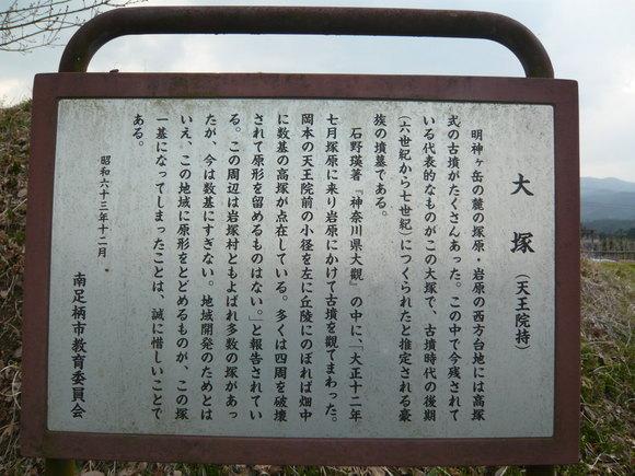 大塚説明板