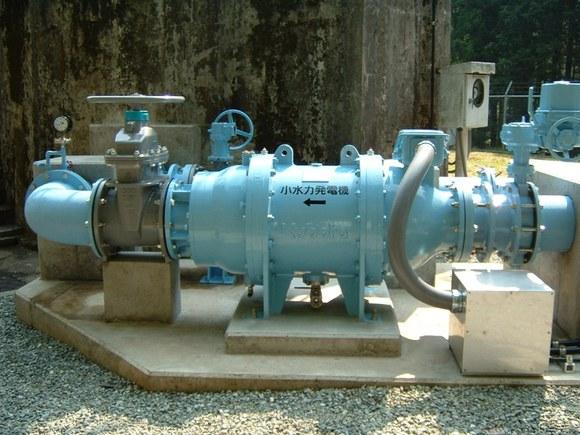ミニ水力発電設備の概要