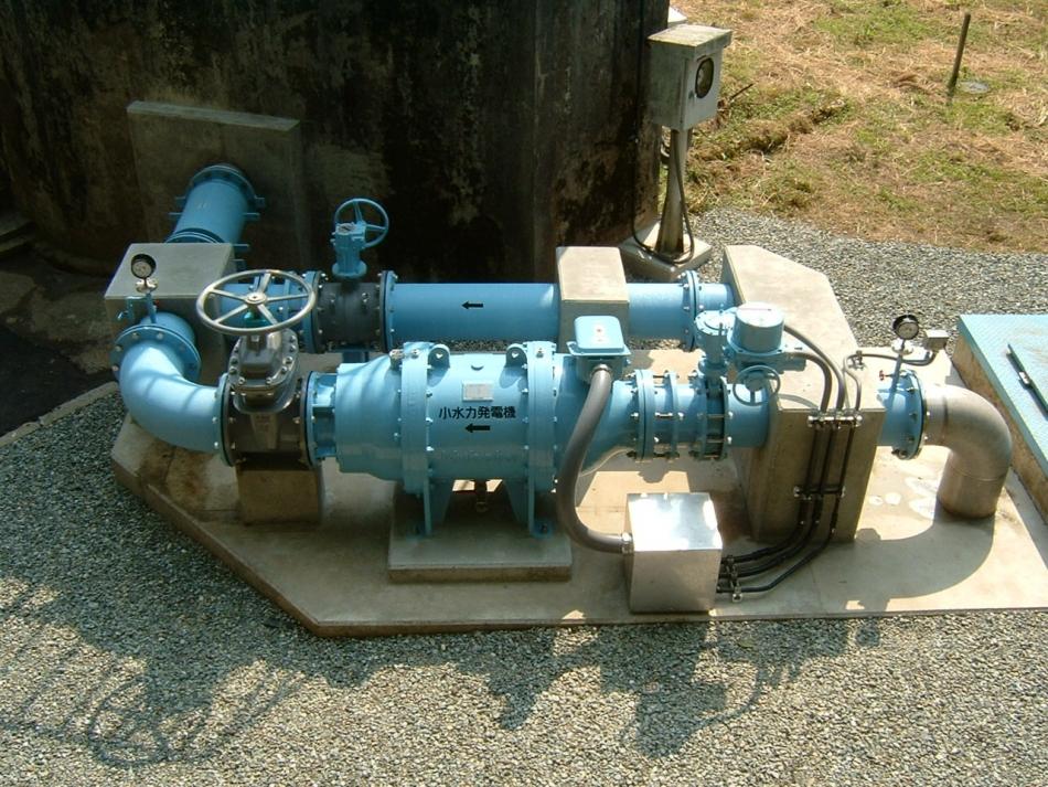 ミニ水力発電機