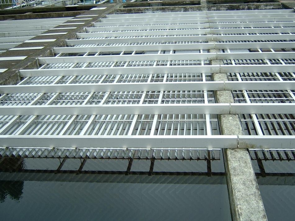 傾斜板沈澱池