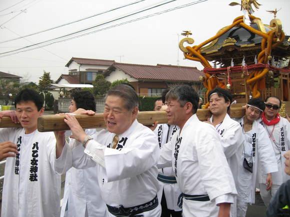 平成24年3月18日(日) 沼田・八乙女神社祭礼