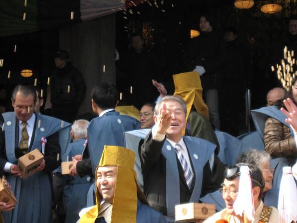 平成24年2月3日(金) 大雄山最乗寺「節分豆まき祭」