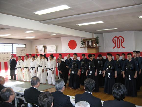 平成24年1月25日(水) 松田警察署「武道始式」