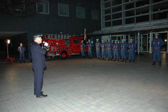 平成23年12月26日(月) 年末火災特別警戒督励