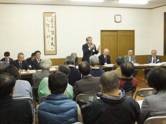 平成23年11月14日(月) 市政懇談会(三竹公民館)