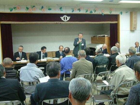 平成23年11月1日(火) 市政懇談会(福沢コミュニティセンター)