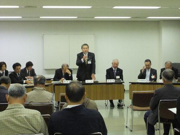 平成23年10月31日(月) 市政懇談会(市役所大会議室)