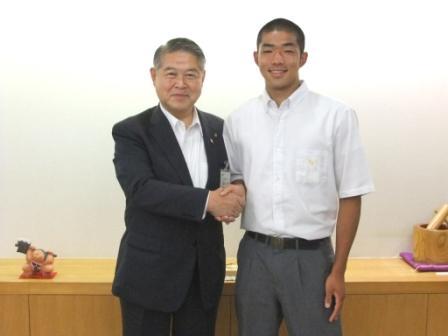 古谷拓夢さんが「世界ユース陸上競技選手権大会」へ