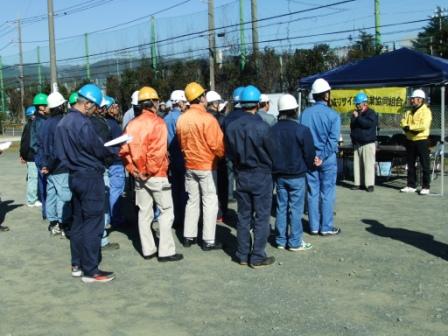 市・広域リサイクル事業協同組合合同「災害時における一般廃棄物収集対応訓練の様子