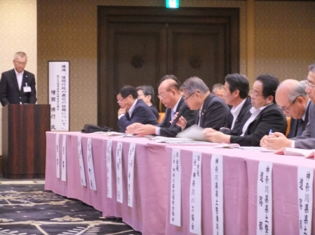 平成24年5月31日(木) 神奈川県道路利用者会議意見交換会