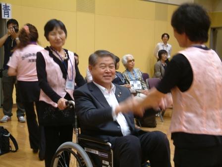 平成24年6月15日(金) 2市8町車椅子ダンズ広域交流事業「にこにこの会」
