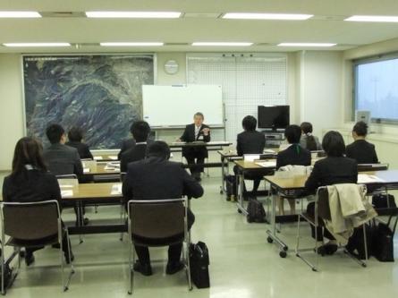 平成24年4月3日(火) 新採用職員研修にて講話