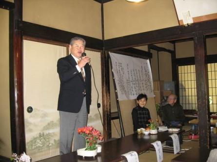 平成24年5月13日(日) みなみ俳句協会「丸太の森俳句大会」