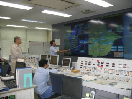 平成24年9月19日(水) 三保ダム視察