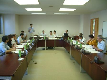 平成24年8月24日(金) 行政改革推進委員会