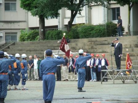 平成24年7月8日(日) 第48回神奈川県消防操法大会出場(市消防団第5分団)に伴う激励の集い