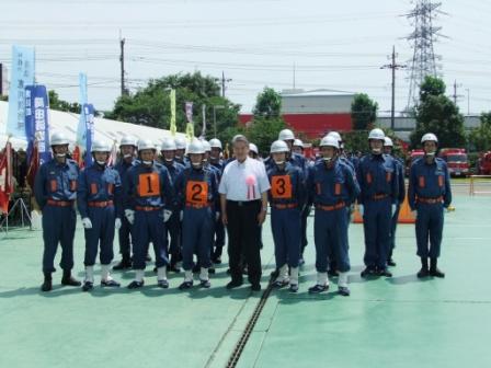 平成24年7月24日(火) 第48回神奈川県消防操法大会