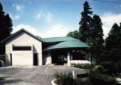 郷土資料館の外観