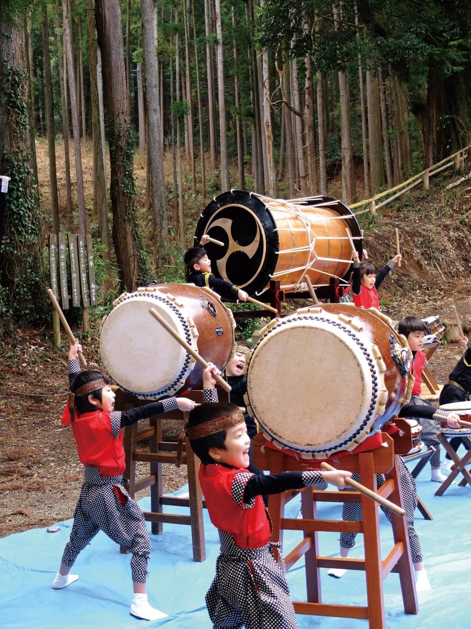 「森にひびけぼくらの太鼓」