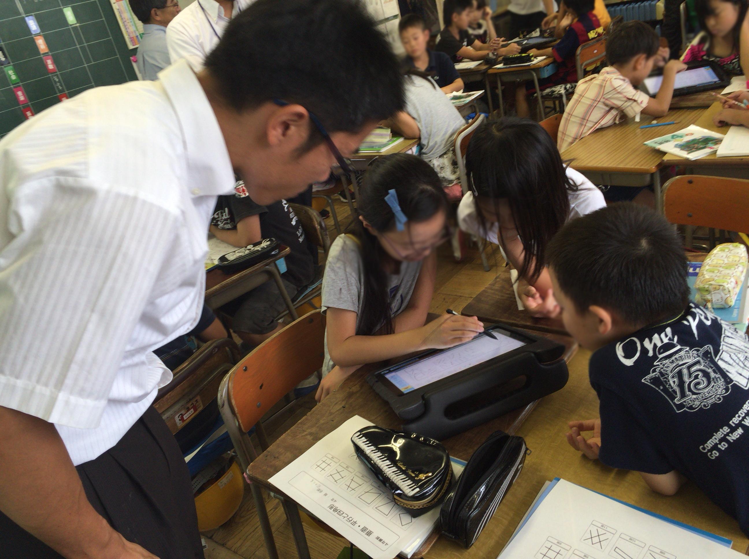 公立学校の授業におけるタブレット端末の活用