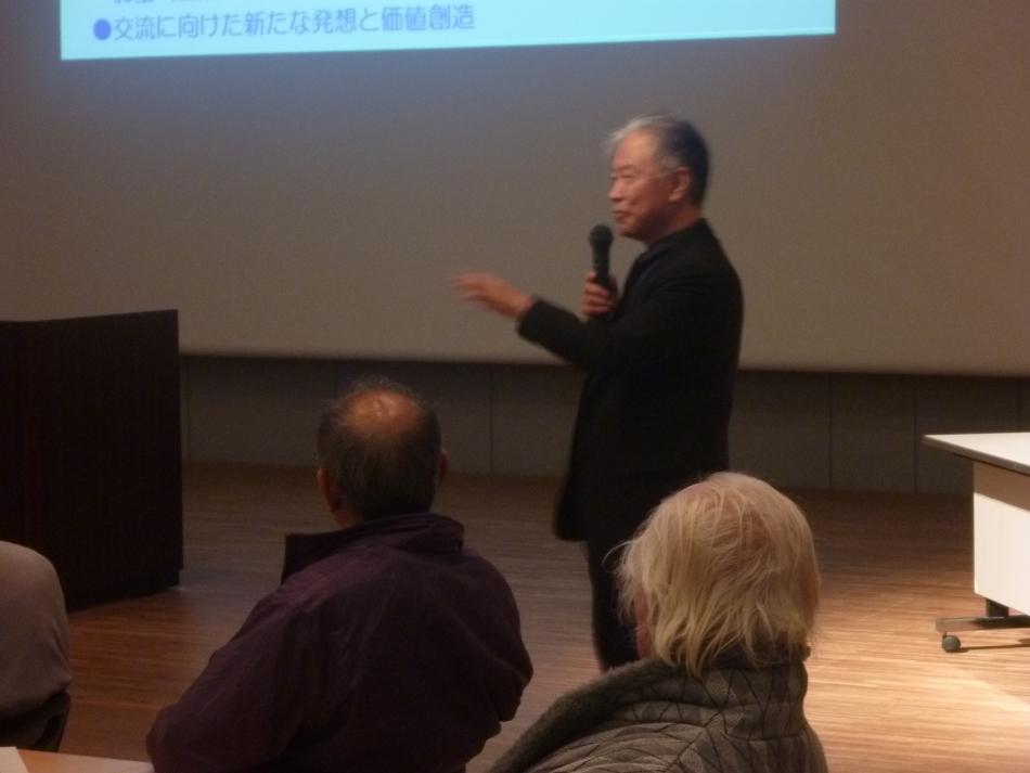 基調講演をいただいた、東海大学杉本教授