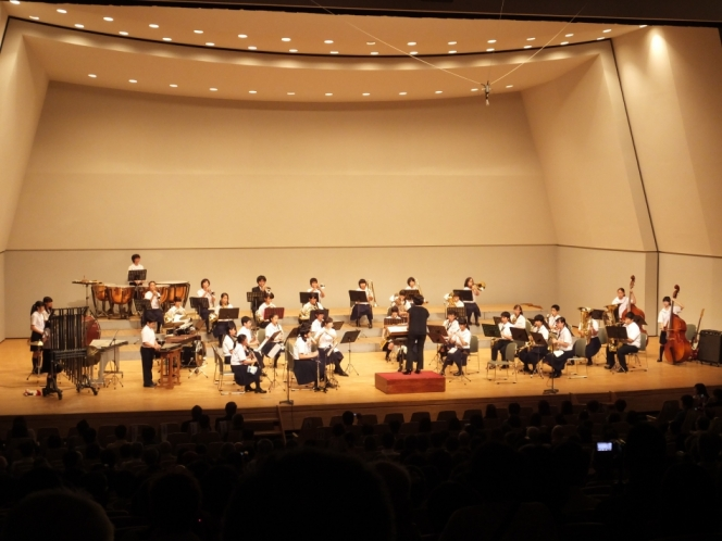 南足柄市立中学校吹奏楽部 夢の合同コンサート