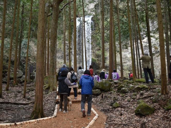 夕日の滝遊歩道「金太郎のこみち」