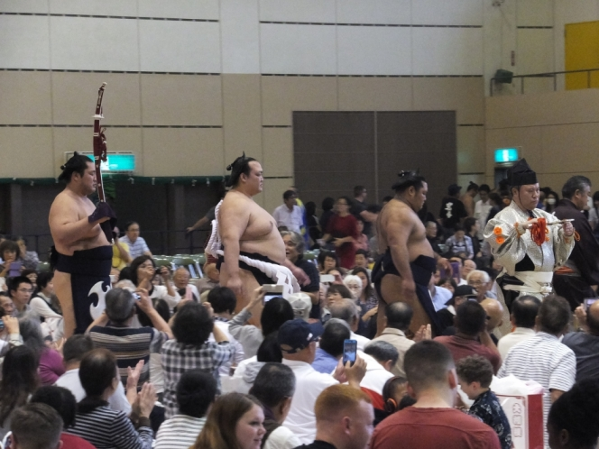 平成三十年秋巡業大相撲南足柄場所の開催
