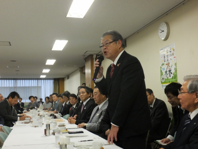 学校耐震化・施設整備等促進議員連盟に対する要望