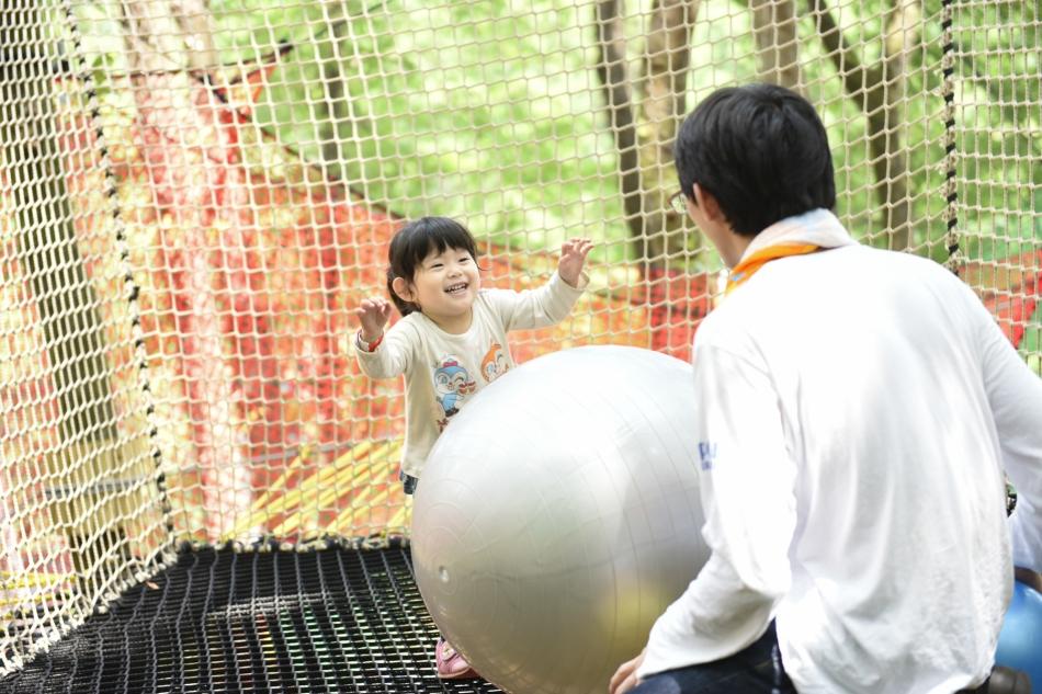 第2回「日本でここだけ!パパ子で森の空中遊び パパ子でパカブ!」