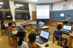 「プログラミング体験教室」と「災害対応カードゲーム」を開催(協働のまちづくり通信 第7号 )