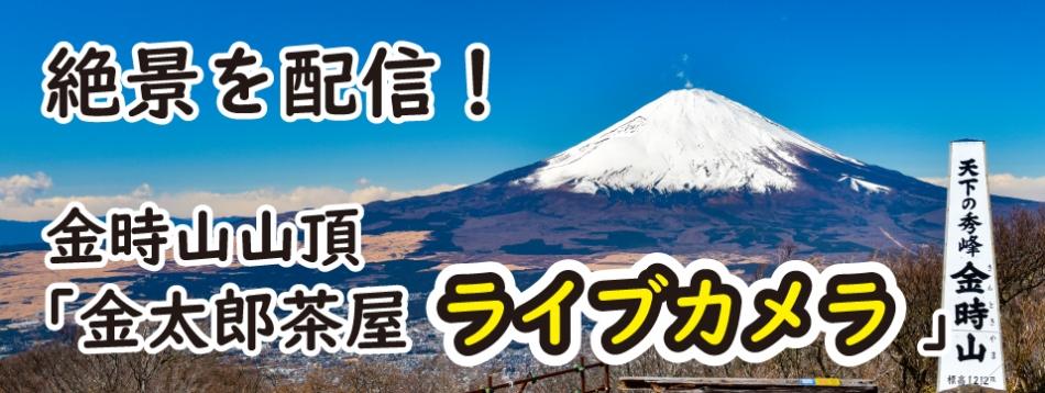金時山山頂「金太郎茶屋ライブカメラ」