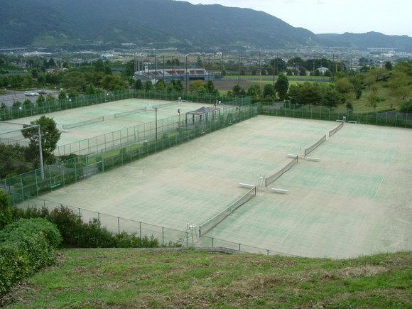 南足柄市運動公園テニスコート