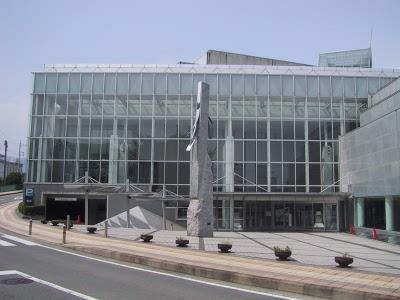 文化会館 (愛称:金太郎みらいホール)正面画像