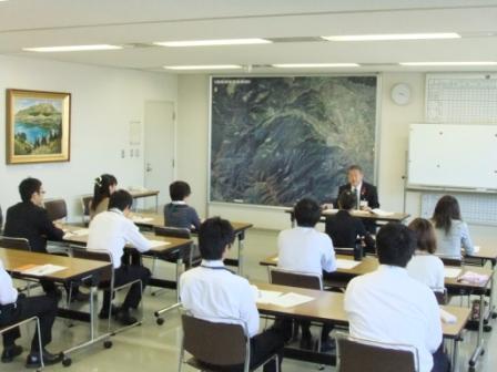 平成24年10月16日(火) 新採用職員フォローアップ研修